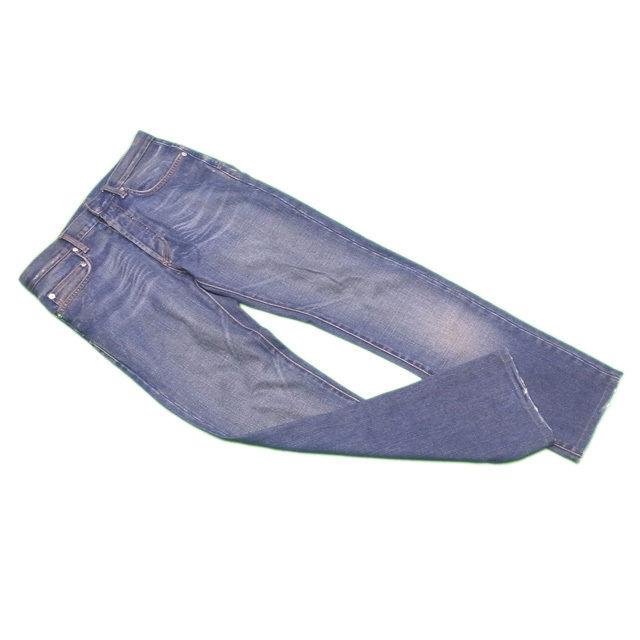 【中古】 ディオール オム Dior Homme ジーンズ ストレート メンズ ♯28サイズ ウォッシュブルー C 100% G1078 .