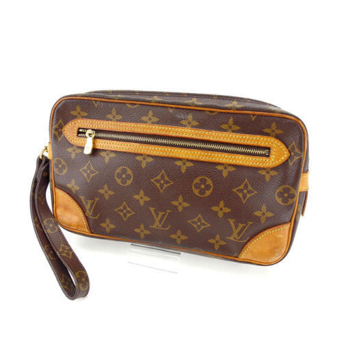 491cc428dd46 Louis Vuitton Louis Vuitton second bag clutch bag man and woman combined  use マルリードラゴンヌ GM monogram M51825 brown monogram canvas (correspondence) ...