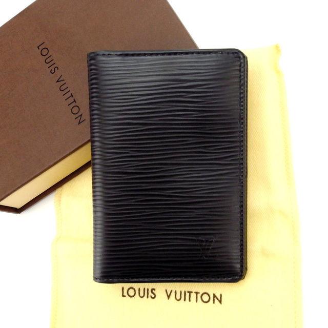 【中古】 ルイヴィトン カードケース 名刺入れ Louis Vuitton ノワール(ブラック) L430s .
