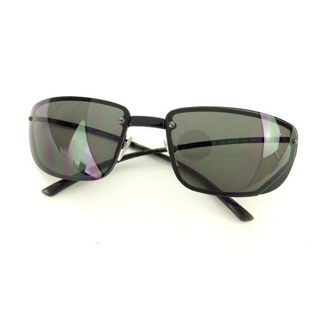f9da70a7ddd Gucci GUCCI sunglasses glasses men s possible logo full rim GG1691 S 006  clear black X black X silver plastic X silver metal fittings  (correspondence) ...