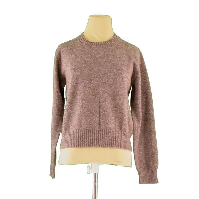 【中古】 クロエ Chloe ニット 長袖 セーター レディース ♯40サイズ ブラウン L518