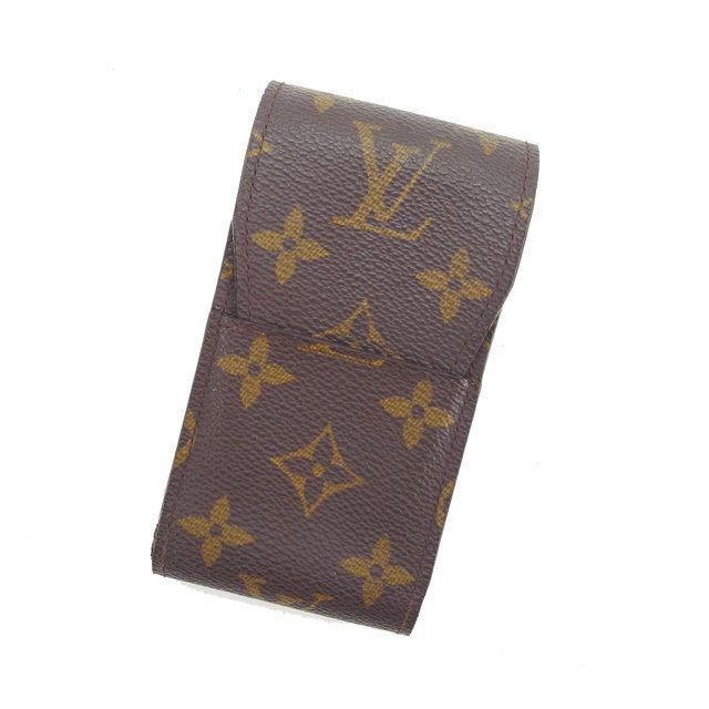 【中古】 ルイヴィトン シガレットケース タバコケース Louis Vuitton ブラウン L575s .