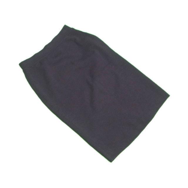 【中古】 クリスチャンディオール Christian Dior スカート タイト レディース ♯Mサイズ ブラック 毛 100% L2138 .