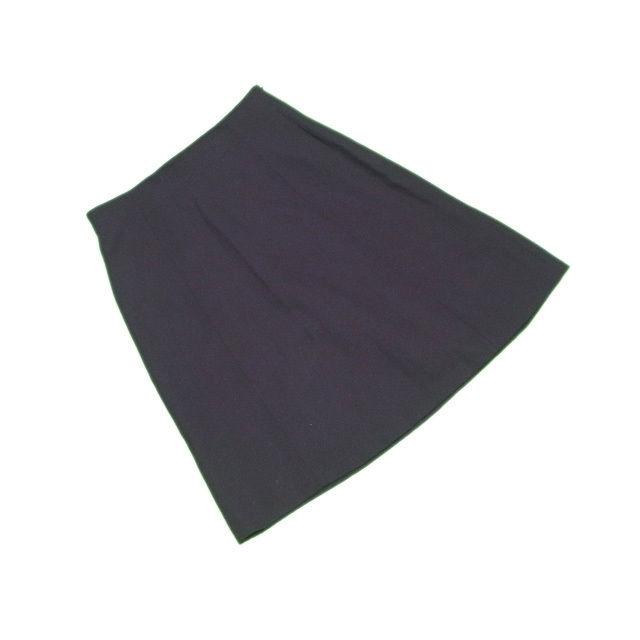 【中古】 フェンディ FENDI スカート レディース フレアー ブラック W100%(裏地)acetato60%cupro40% 美品 L2185