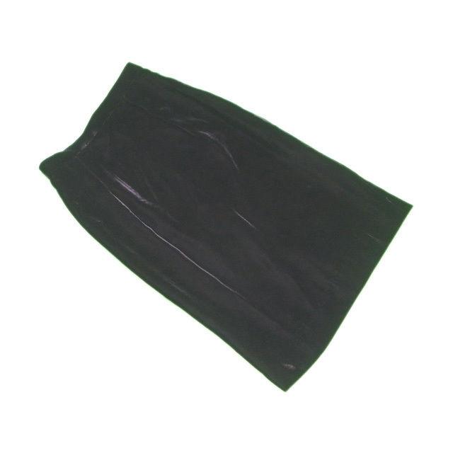 【中古】 ディオール Dior スカート ヴィンテージ レディース ♯Mサイズ タイト ブラック レーヨン81%絹9%(裏地)キュプラ100% 美品 L2191