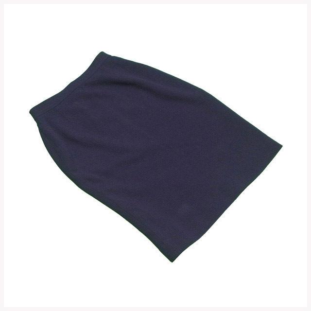 【中古】 シャネル CHANEL スカート ブティック レディース ♯36サイズ タイト ネイビー 人気 L2193