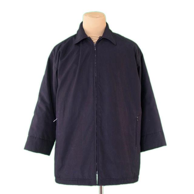 【中古】 マックスマーラ MaxMara コート 中綿入り レディース メンズ 可 ウィークエンドライン シングルZIP ブラック PE/100%(裏地)PE/100% 人気 L2358