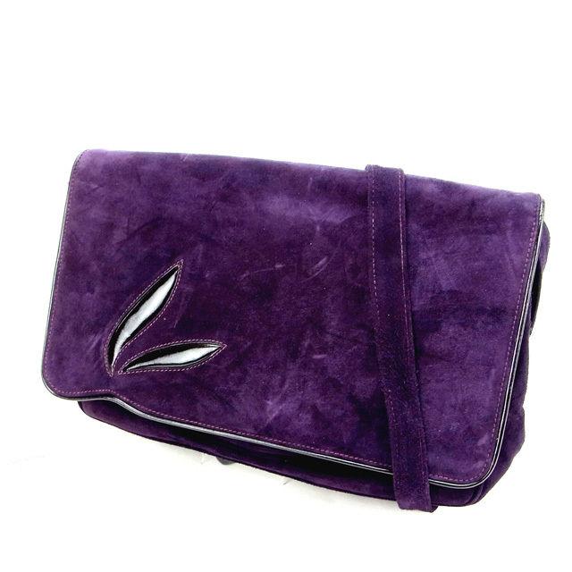 074fdea6b6 It is M1060 shoulder purple suede (correspondence) at Salvatore Ferragamo  Salvatore Ferragamo shoulder bag   bias (deep-discount popularity).