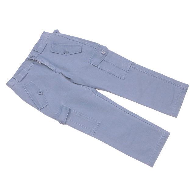 【中古】 マークジェイコブス MARC JACOBS パンツ クロップド レディース メンズ 可 ♯2サイズ ワークポケット ブルーグリーン コットン綿100% 良品 P557 .