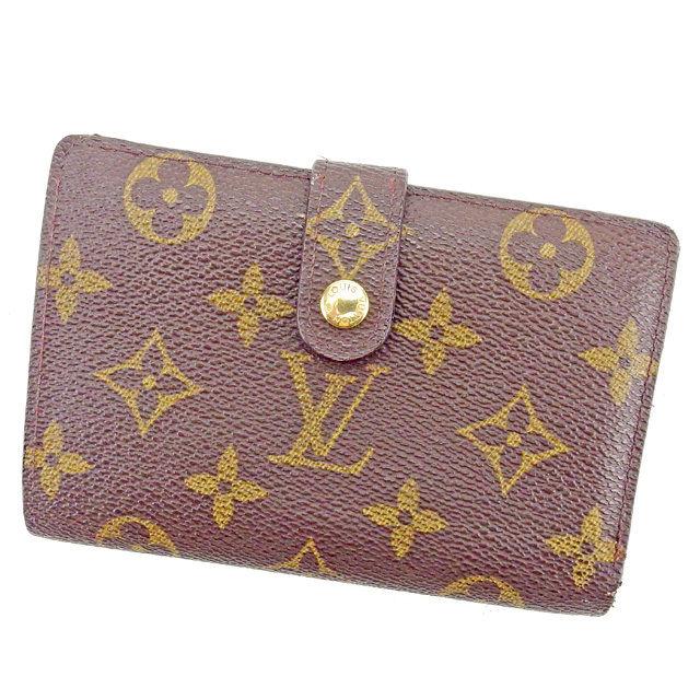 c98e8c77d5d2 ルイ 財布 メンズ ヴィトン がま口財布 二つ折り Louis Vuitton ブラウン ...