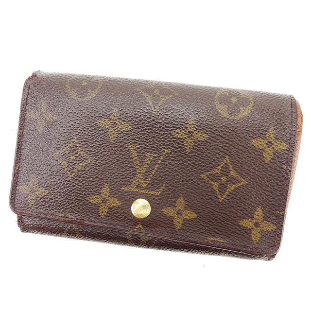 【中古】 ルイ ヴィトン L字ファスナー財布 二つ折り財布 Louis Vuitton ブラウン T2460s