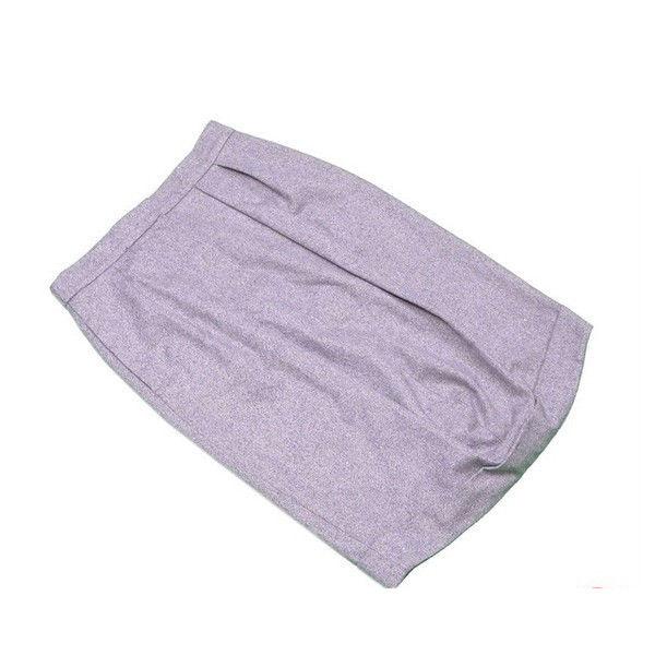 【中古】 マックスマーラ MaxMara スカート レディース ♯USA8サイズ コクーン グレー WOOL/80%ANGORA/20% 訳あり 良品 T414 .