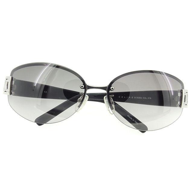 2c1c513f188 Macadam mark half rim clear black X silver X black plastic X silver metal  fittings beauty product T815 with the Celine CELINE sunglasses glasses  men s ...