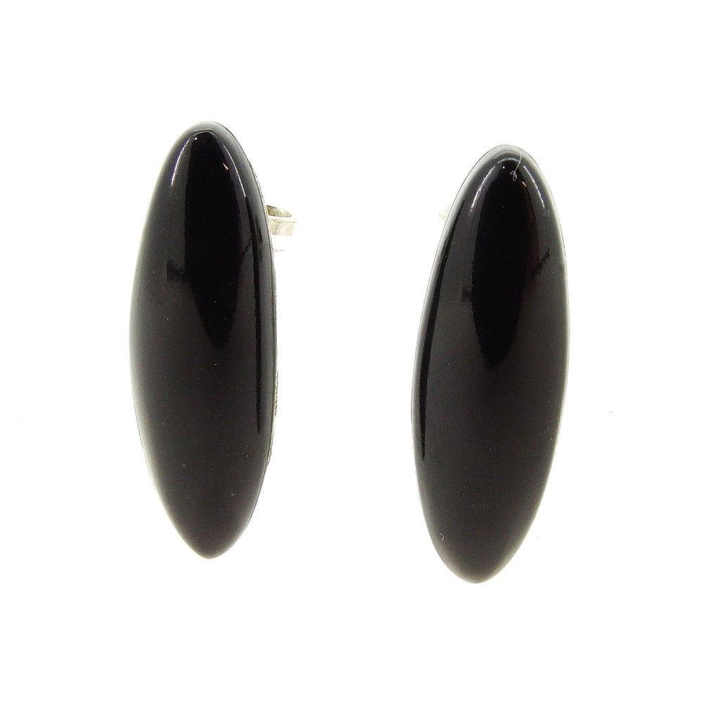 fce6fe0e7 Gucci GUCCI pierced earrings accessories lady's men's possible onyx black X  silver onyx X silver 925 ...