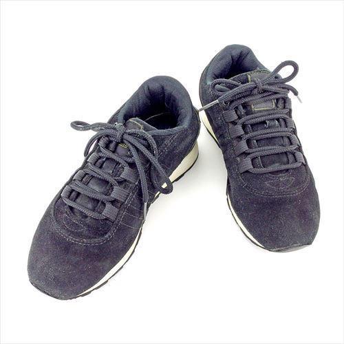 【中古】 フェンディ FENDI スニーカー シューズ 靴 レディース ♯35 ローカット ロゴ ブラック イエロー ホワイト 白 スエード 人気 T5773 .