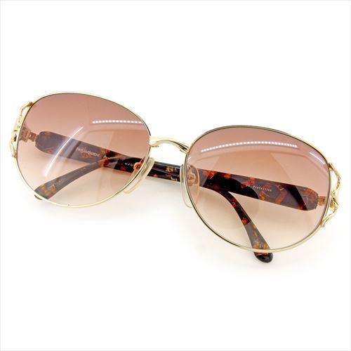 【中古】 サンローラン SAINT LAURENT サングラス メンズ可 ブラウン ゴールド ブラック 人気 良品 T5843 .