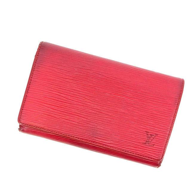 ルイヴィトン L字ファスナー財布 さいふ 二つ折り財布 さいふ ポルトモネビエトレゾール エピ レッド レザ- Louis Vuitton T16495:ブランドデポ TOKYO