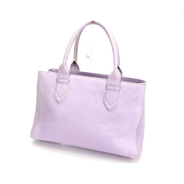 39d8feb32c5 Cole Haan Cole Haan tote bag / handbag purple leather (correspondence)  popularity quality goods Y713