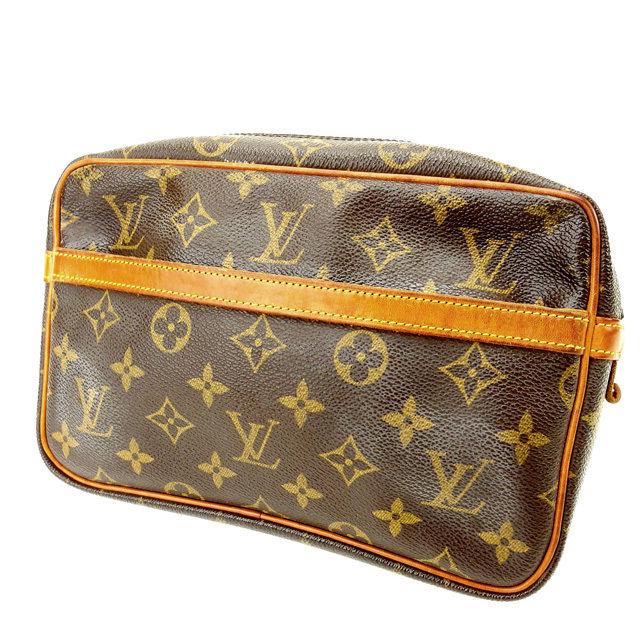 【中古】 ルイヴィトン Louis Vuitton セカンドバッグ /メンズ可 /コンピエーニュ23 モノグラム M51847 モノグラムキャンバス (あす楽対応)人気 激安 Y1074 .