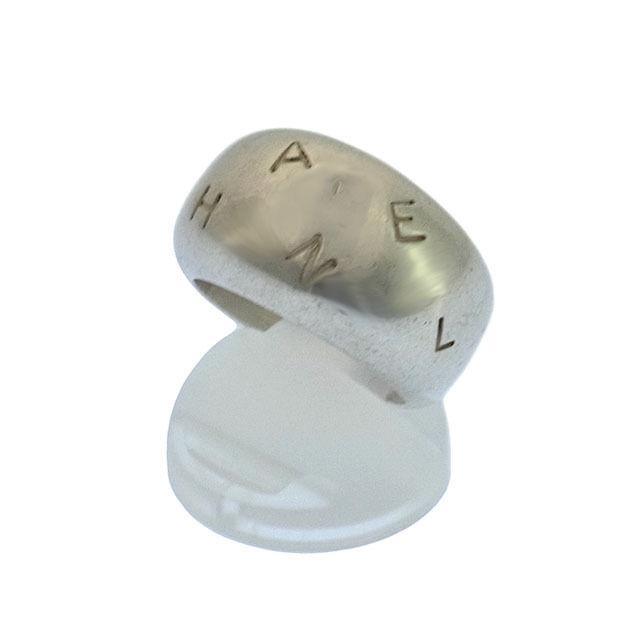 【中古】 シャネル CHANEL 指輪 リング アクセサリー メンズ可 ♯115号 ロゴ シルバー シルバー925(186g) (あす楽対応)人気 良品 Y1201
