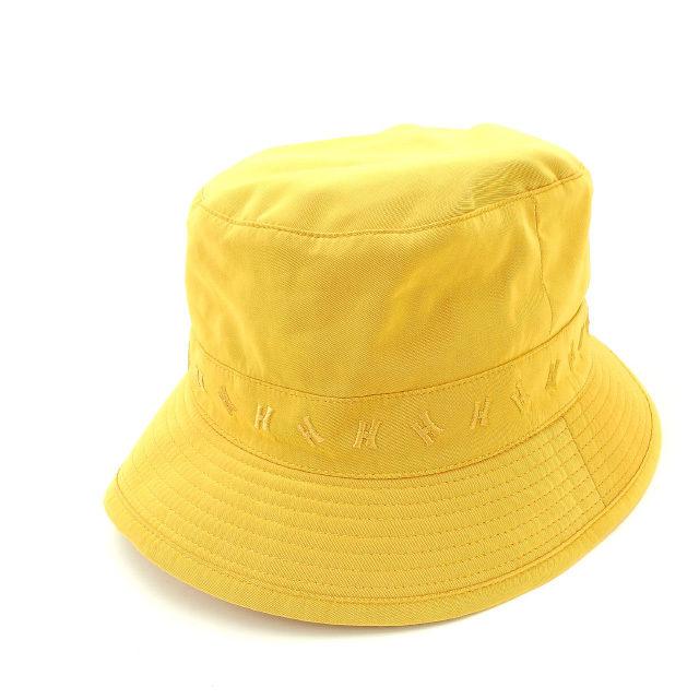 【中古】 エルメス HERMES 帽子 ハット レディース オレンジ (あす楽対応)人気 美品 Y1429 .