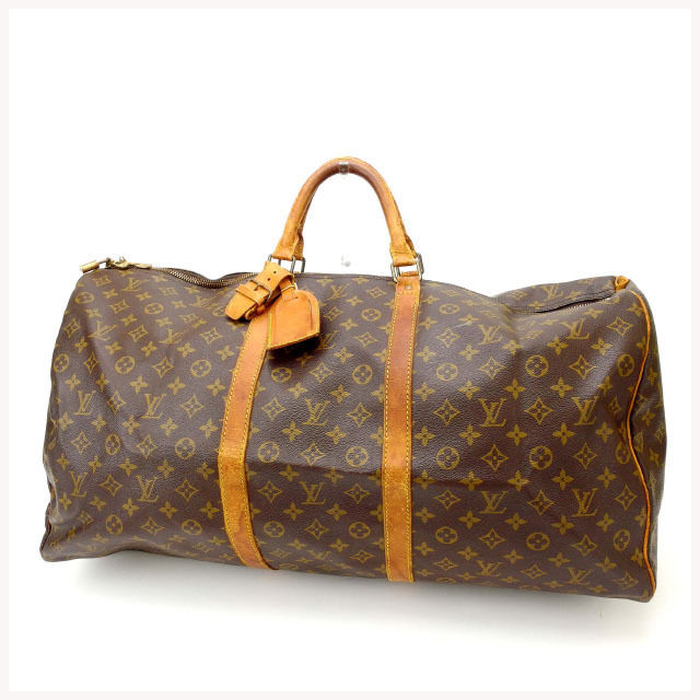 【中古】 ルイヴィトン Louis Vuitton ボストンバッグ /トラベルバッグ /メンズ可 /キーポル60 モノグラム M41422 PVC×レザー (あす楽対応)人気 激安 Y1690 .