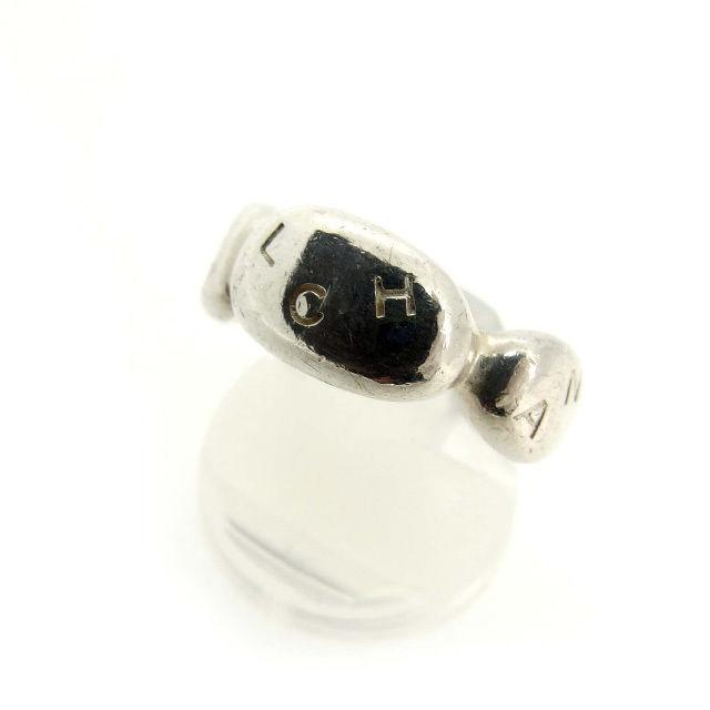 【中古】 シャネル CHANEL 指輪 リング レディース シルバー シルバー925 (あす楽対応)人気 良品 Y2023 .
