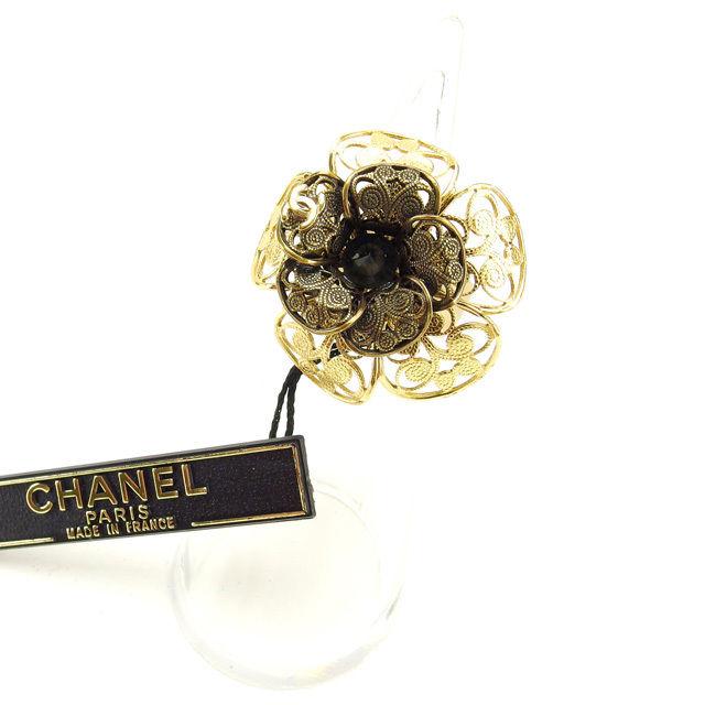 【中古】 シャネル CHANEL 指輪 リング レディース ヴィンテージ ゴールド (あす楽対応)未使用 奇跡的入荷 Y2362 .