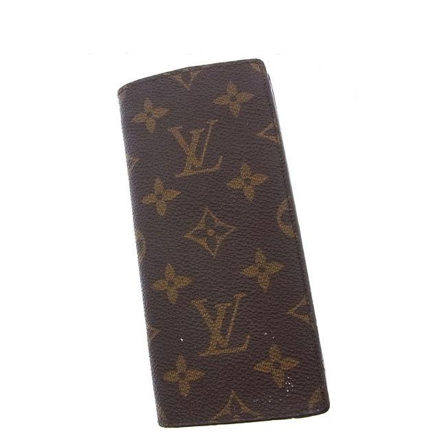 【中古】 ルイヴィトン Louis Vuitton メガネケース /サンプール メンズ可 エテュイリュネットサーンプル モノグラム M62962 ブラウン モノグラムキャンバス (あす楽対応)激安 Y2693 .
