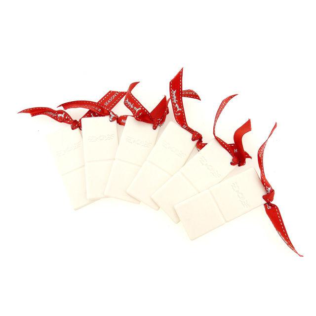 【中古】 エルメス HERMES 箸置き 6膳分 ホワイト (あす楽対応)レア 人気 Y2809 .