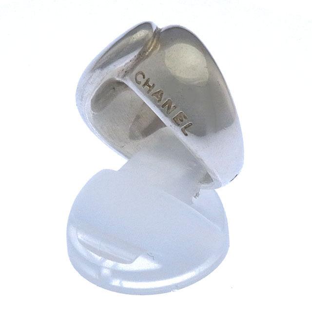 【中古】 シャネル CHANEL 指輪 リング アクセサリー メンズ可 ♯10号 ロゴ シルバー シルバー925 (あす楽対応)良品 Y2826 .