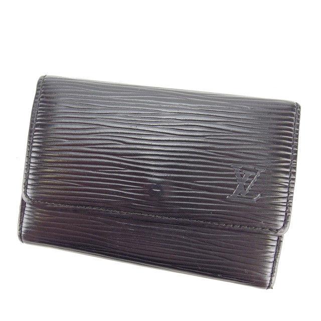 【中古】 ルイヴィトン Louis Vuitton キーケース 6連キーケース メンズ可 ミュルティクレ6 エピ M63812 ノワール(ブラック) エピレザー (あす楽対応)激安 Y3275 .