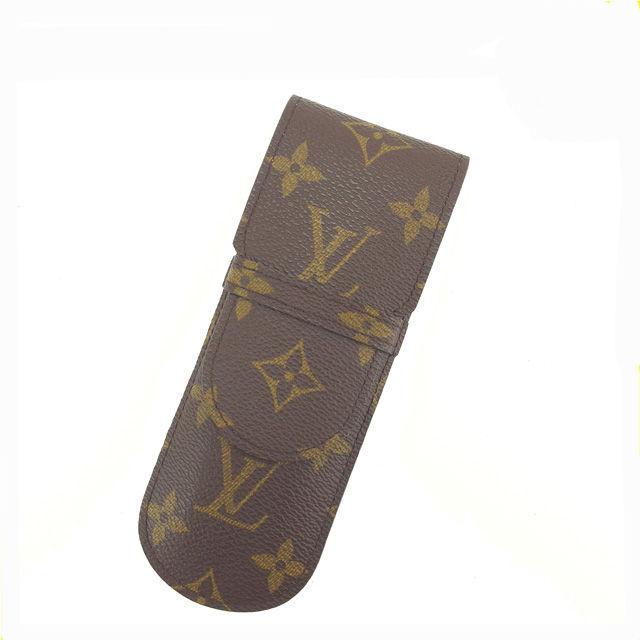 【中古】 ルイヴィトン LOUIS VUITTON ペンケース エテュイ・スティロ モノグラム M62990 PVC×レザー (あす楽対応)人気 Y3766 .