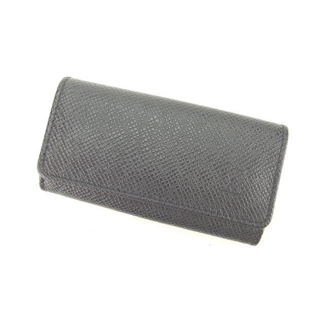 【中古】 ルイヴィトン Louis Vuitton キーケース /4連キーケース /メンズ可 /ミュルティクレ4 タイガ M30522 アルドワーズ(ブラック) タイガレザー (あす楽対応)良品 T11603 .