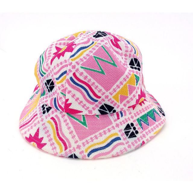 バレンシアガ BALENCIAGA hat hat Lady s ♯ medium size mixture pattern white X pink  system cotton  100 % (correspondence) non-exhibition sale Y4824 9c7266bbc51