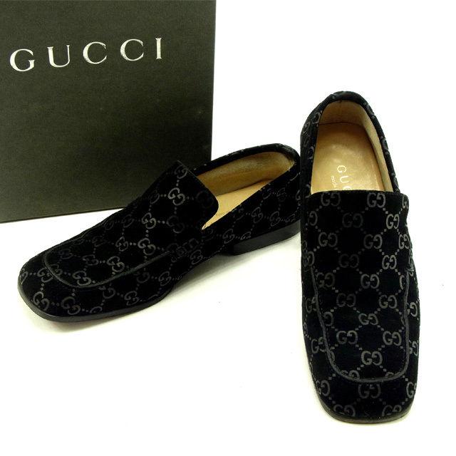 e79e92222c03 BRAND DEPOT TOKYO  Gucci GUCCI shoes  4C Lady s GG pattern black ...