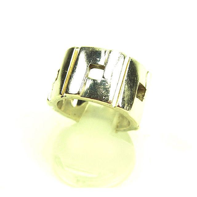 【中古】 グッチ Gucci 指輪 リング メンズ可 シルバー シルバー925 人気 Y5749 .