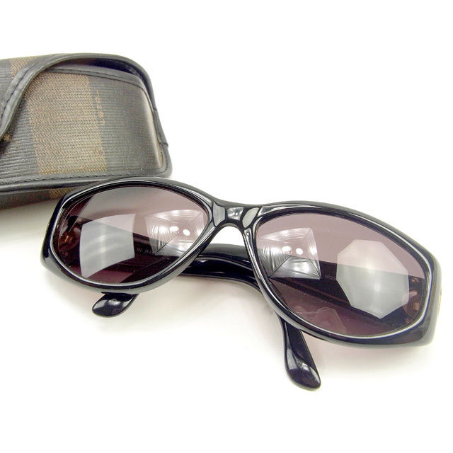 1afb7f040f5 Full rim black X gold plastic X gold metal fittings popularity sale Y7357  with the Fendi FENDI sunglasses glasses men s possible side FF mark
