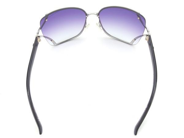 8f99cc3b65a4 ... Entering Christian Dior Christian Dior sunglasses glasses Lady's side  logo square model clear purple X silver ...