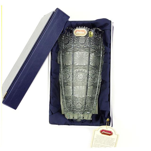 【中古】 セレクション SELECTION 花びん 花瓶 メンズ可 クリア クリスタルガラス A1532