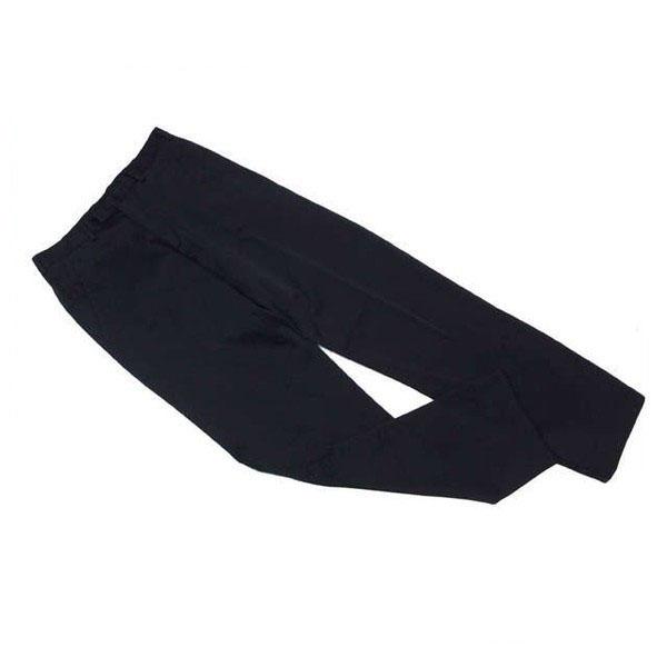 【中古】 ニールバレット NEIL BARRETT パンツ フルレングス メンズ ♯46サイズ センタープレス ブラック 良品 人気 C2965