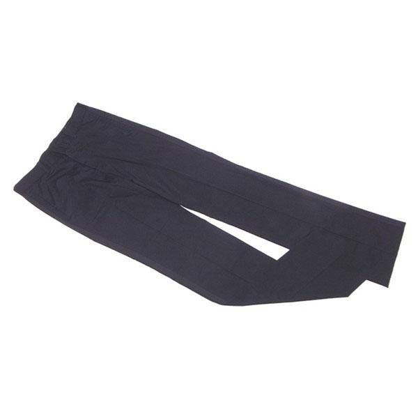 【中古】 メンズ メルローズ MEN'S MELROSE パンツ ストレート メンズ ♯3サイズ サイドテープ付き ブラック コットン綿80%ポリエステル17%ポリウレタン3% L1772