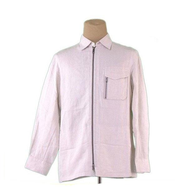 【中古】 アレグリ allegri ジャケット メンズ ♯50サイズ ライトベージュ 麻 51%レーヨン 49% L2260 .