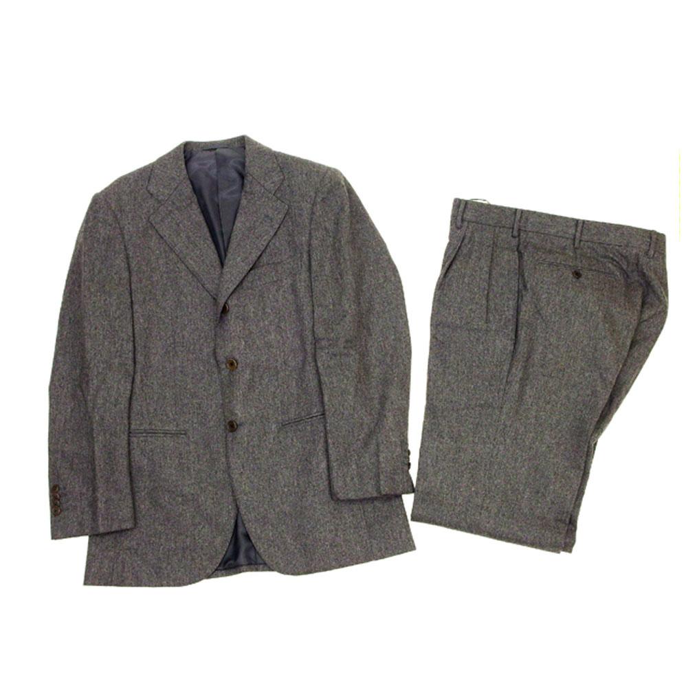 【中古】 ユナイテッドアローズ・ソブリン UNITED ARROWS SOVEREIGN スーツ メンズ ♯44サイズ テーラージャケット×センタープレスパンツ グレー T12205 .