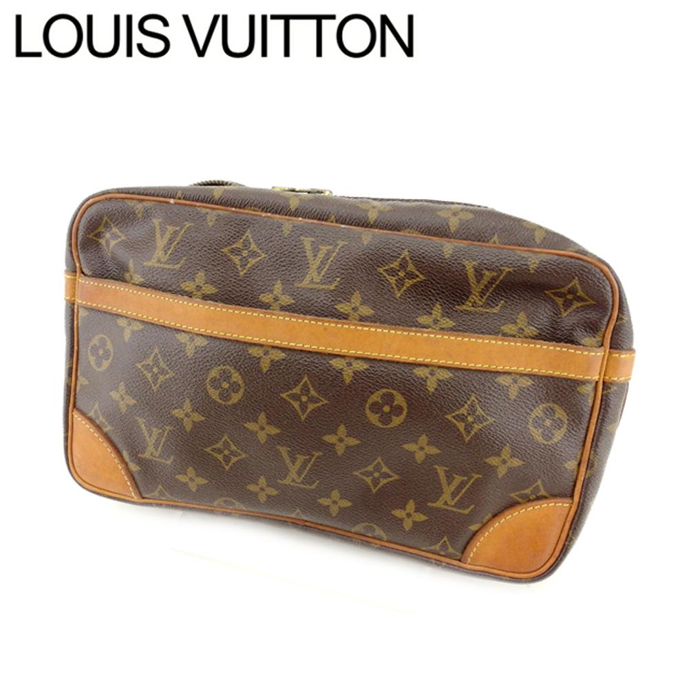 【中古】 ルイヴィトン Louis Vuitton セカンドバッグ メンズ可 コンピエーニュ23 モノグラム モノグラムキャンバス B511