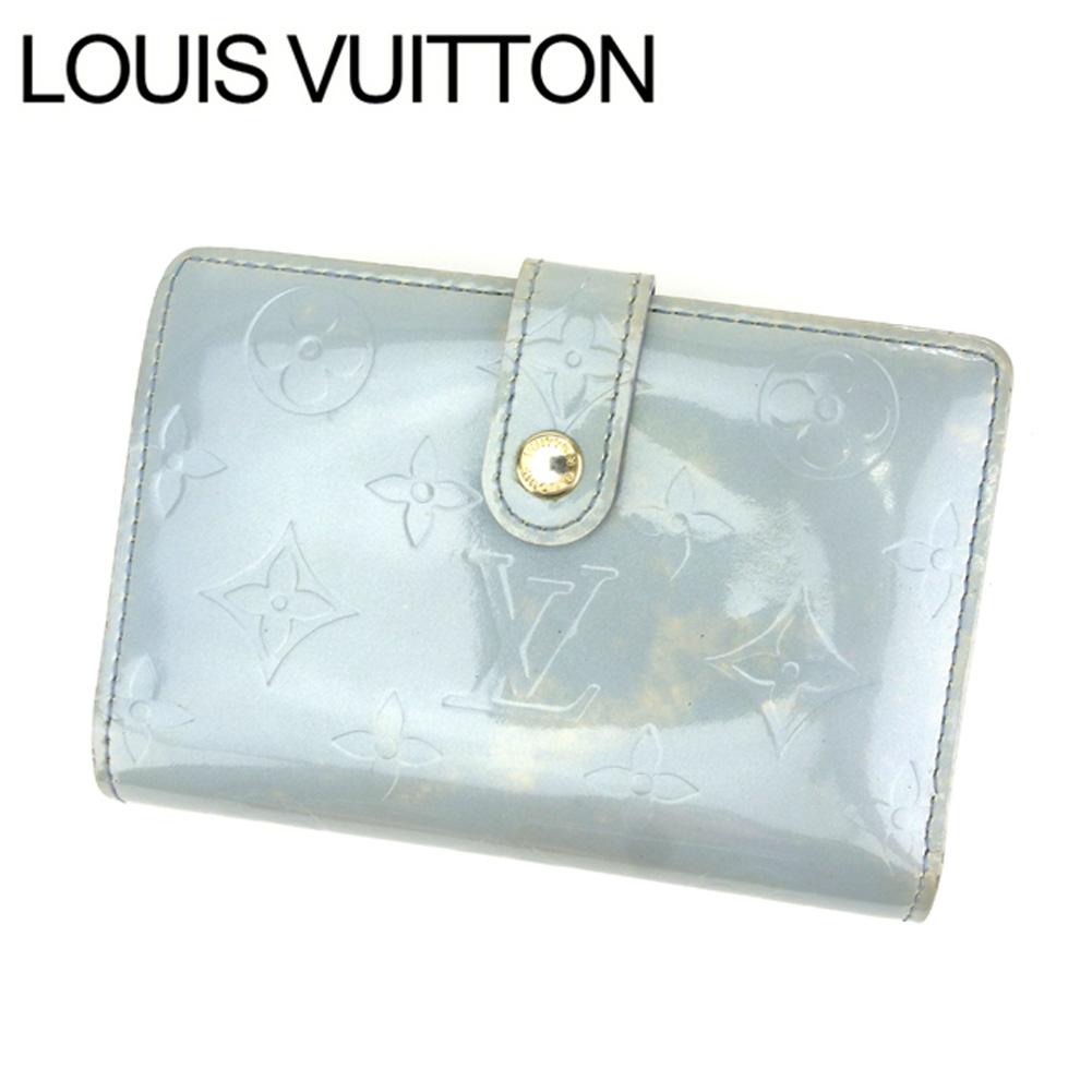 【中古】 ルイヴィトン Louis Vuitton がま口財布 グレイ M91533 レディース メンズ ユニセックス サイフ 小物 ブランド 人気 贈り物 財布 収納 在庫一掃 迅速発送 在庫処分 男性 女性 良品 1点物 T11798 .