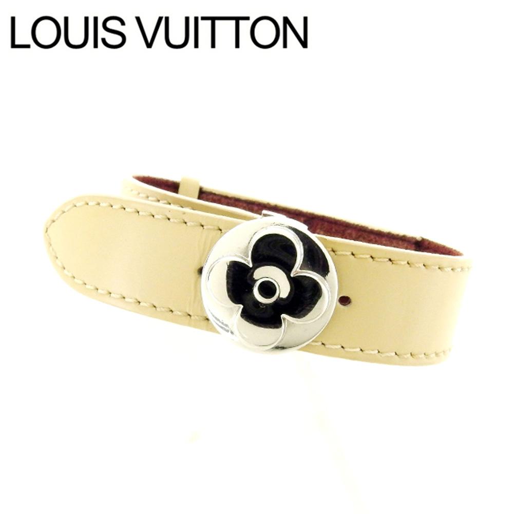 【中古】 ルイヴィトン Louis Vuitton ブレスレット /ブラスレ・ヴー モノグラム・マット M64540 アンブレ キャンバス×レザー (あす楽対応)人気 美品 Y1131
