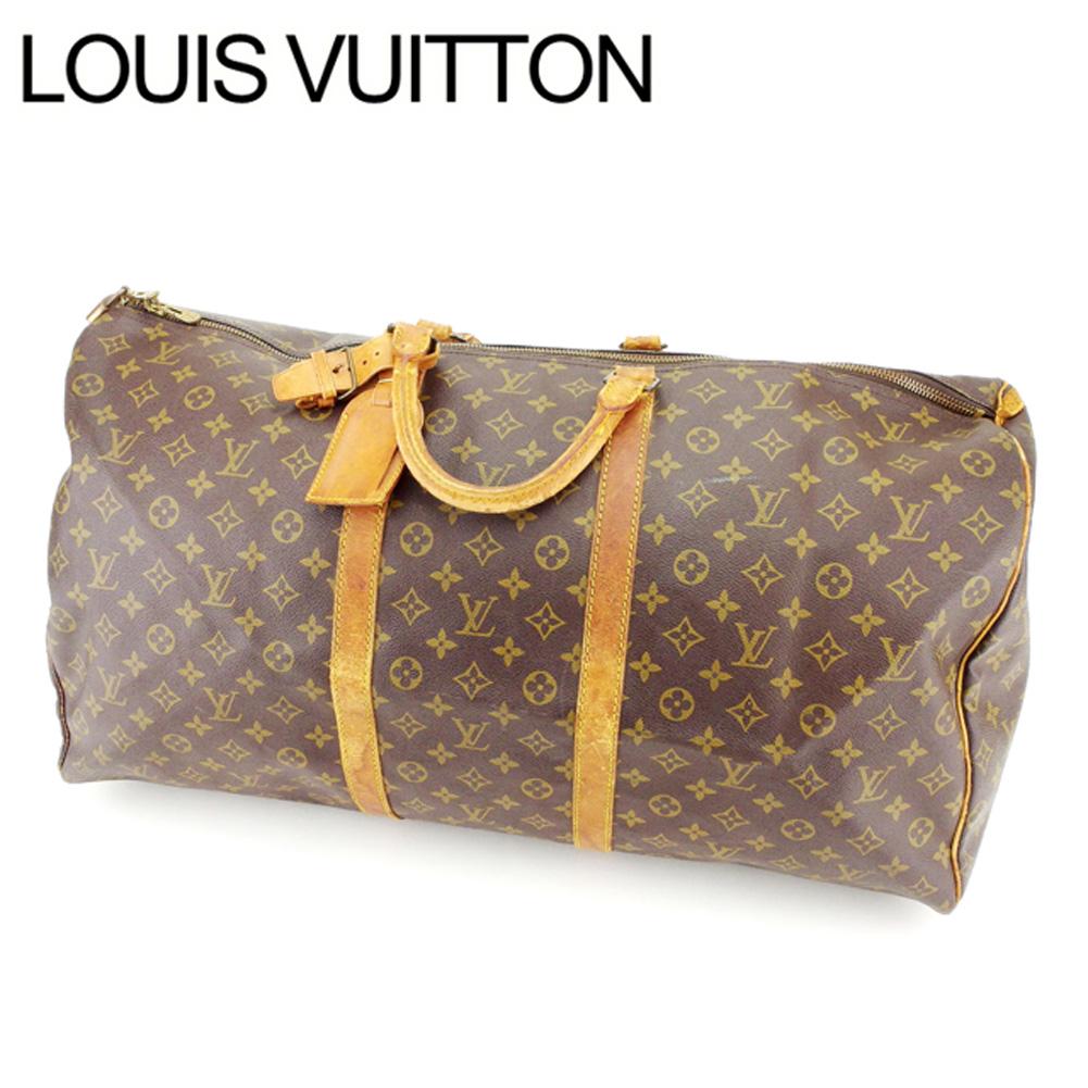 【中古】 ルイヴィトン Louis Vuitton ボストンバッグ /トラベルバッグ /メンズ可 /キーポル60 モノグラム M41422 PVC×レザー (あす楽対応)人気 激安 Y1690