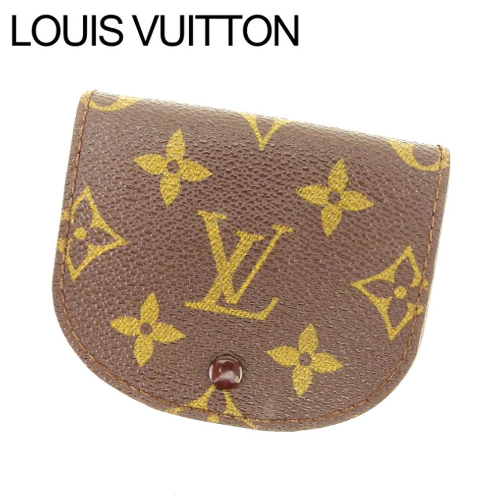 【中古】 ルイヴィトン Louis Vuitton コインケース /小銭入れ /メンズ可 /ポルトモネ・グセ モノグラム M61970 PVC×レザー (あす楽対応)人気 良品 Y2064