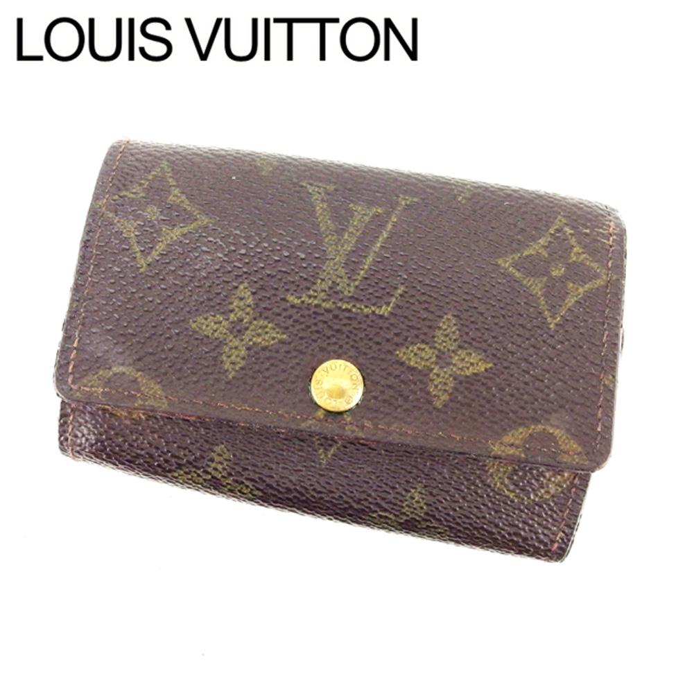 【中古】 ルイヴィトン Louis Vuitton キーケース 6連キーケース メンズ可 ミュルティクレ6 モノグラム M62630 ブラウン モノグラムキャンバス (あす楽対応)人気 T11657 .